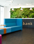 Plantwall 2011, Rabobank, The Netherlands. Проект Green Fortune company